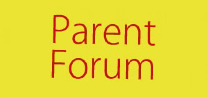 Parent Forum