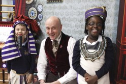 Professor McGinty visits Bells Farm