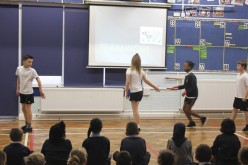 Sports Ambassadors values assembly