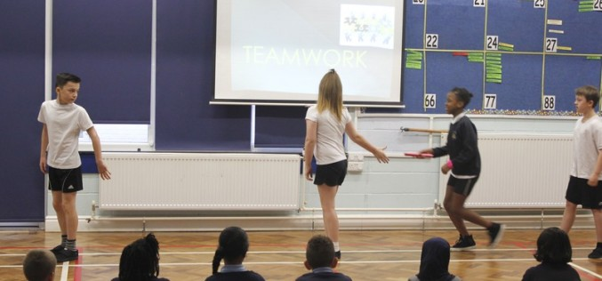 Sports Ambassadors values assembly