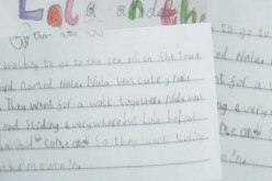This week's 'Writer of the Week' – Sophie Yr 2