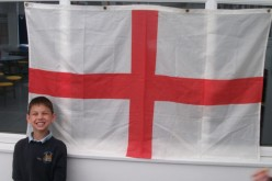 Celebrating St George's day with a themed lunch