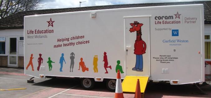 Health caravan checks in at Bells Farm