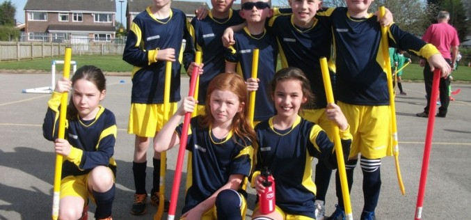 Year 4 finish joint 1st in hockey tournament