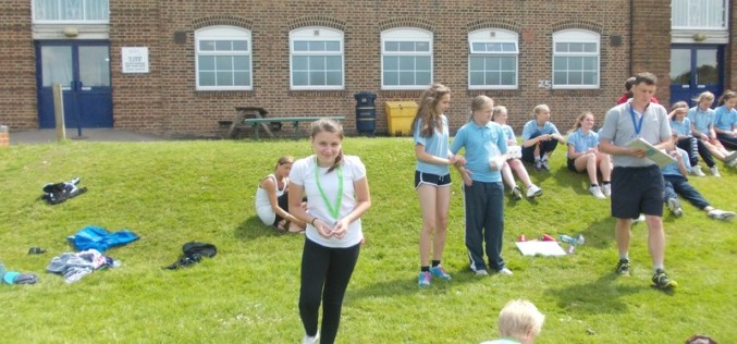 Second place for Y5/6 in rounders competition