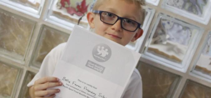 Bells Farm awarded 'Youth Sport Trust Silver Award'