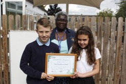 Bells Farm receive Sustainable Schools certificate