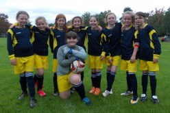 Year 5/6 girls take part in 7-a-side tournament