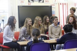 French students visit Year 5 to discuss French culture