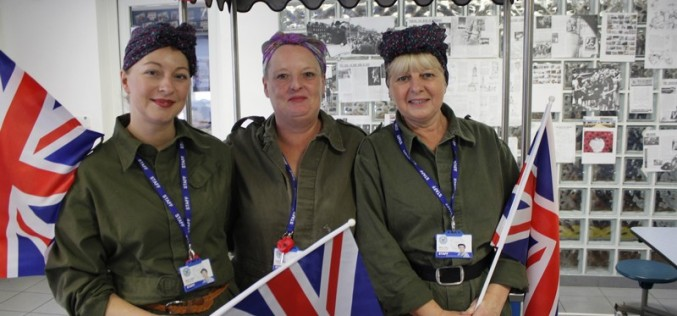 Remembrance Day assembly and themed lunch