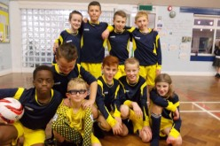 Y5/Y6 boys football team win 6-2