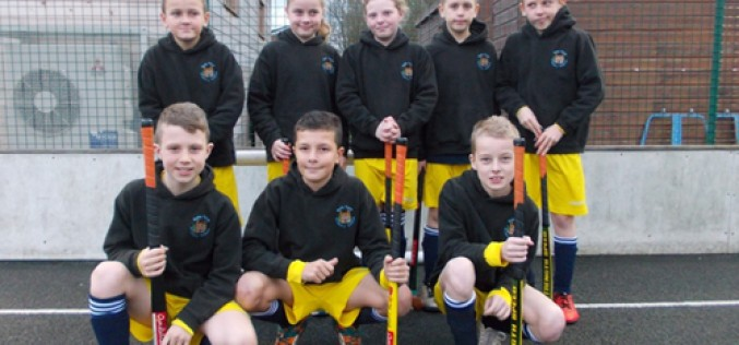 Y5/Y6 hockey tournament champions again!