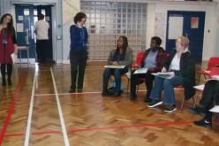 Parents attend phonics workshop
