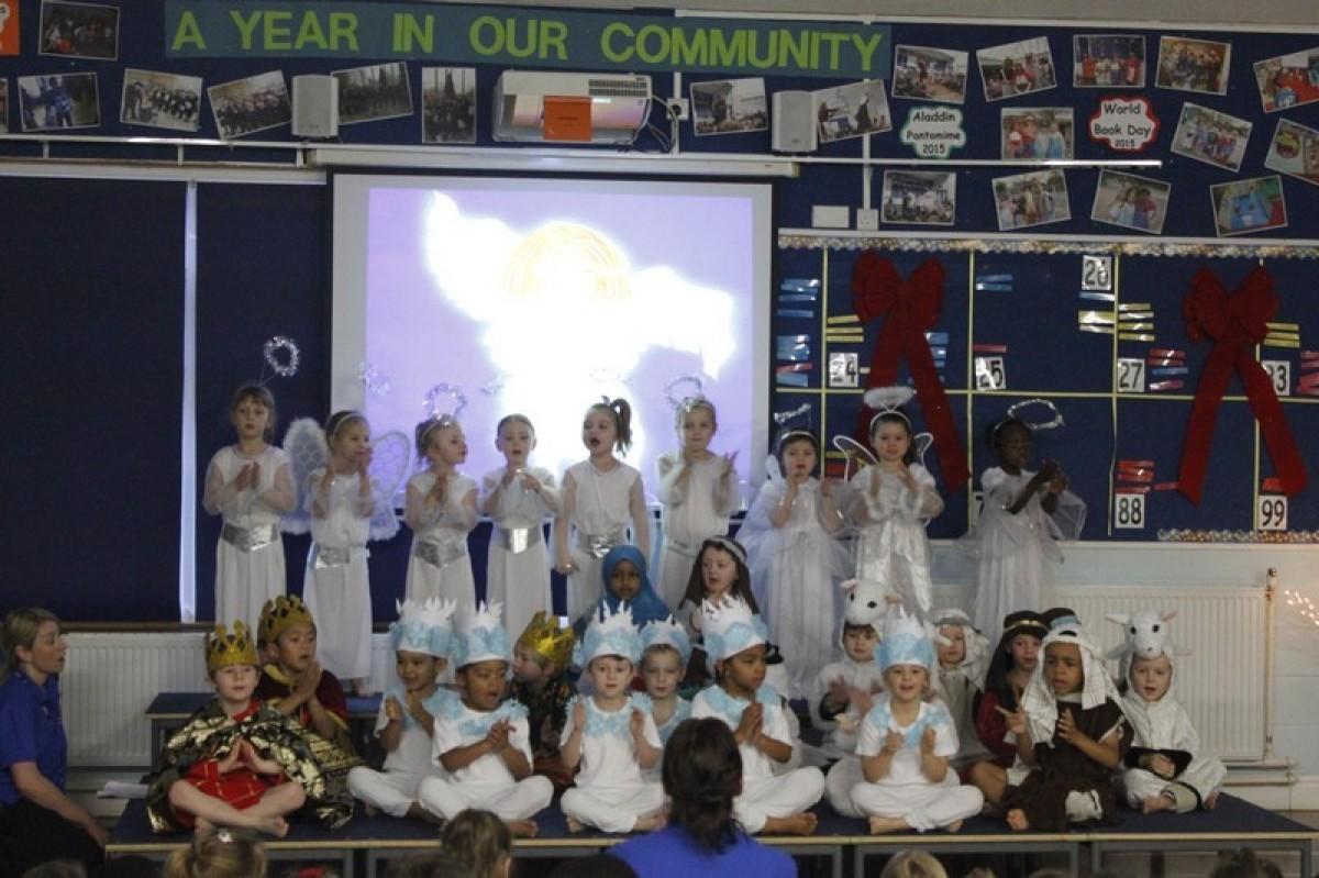 Reception Nativity Performance 2015