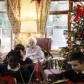Guitarists and bell ringers perform at Tudor Care Home