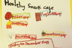Buy a healthy snack from Year 2's café
