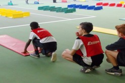 Year 5 and 6 also take part in athletics event