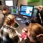 Radio Whiz presenters visit Free Radio studios
