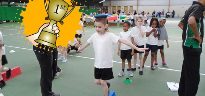 Year 2 secure 1st place at Multi Skills Festival