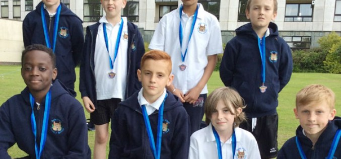 Year 6 finish 3rd in cricket tournament