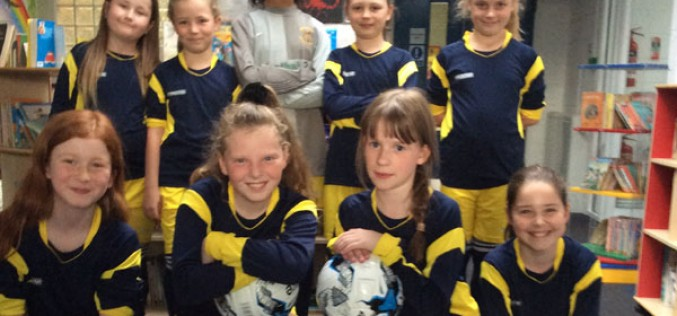 Girls football 7-a-side progress to finals