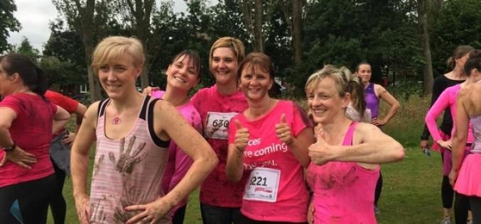 Mrs Gardiner raises money for charity