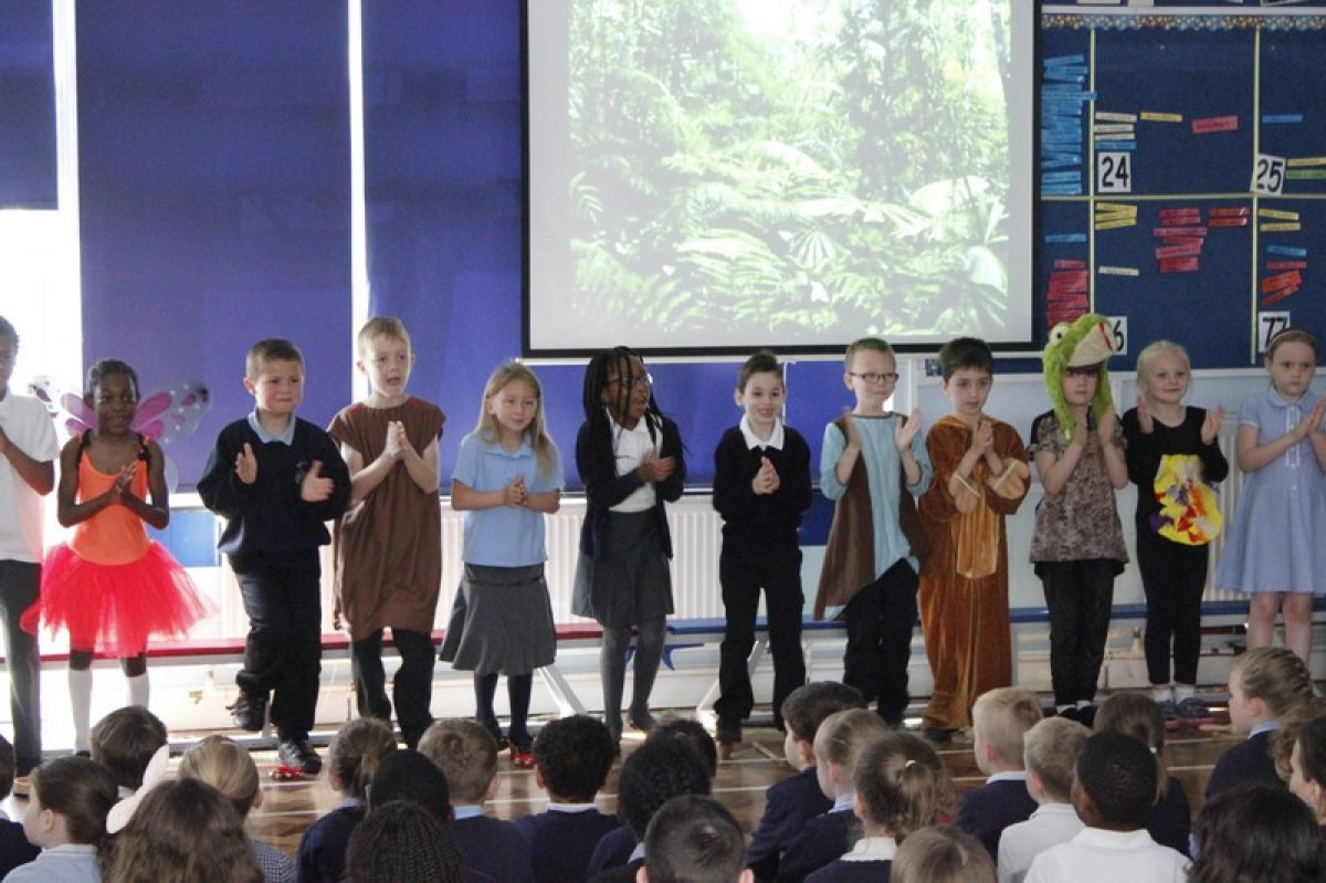 Year 2's Rainforest Assembly