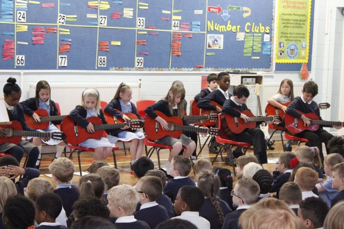 Year 4 Guitar Assembly