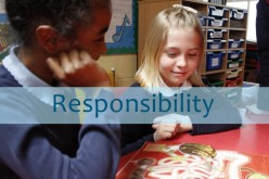 This month's value word responsibility