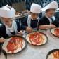 Reception Swans class visit Pizza Express