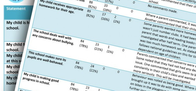 Parent Questionnaires Results and Feedback