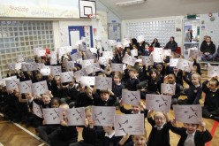 Photos of the Attendance Awards Assembly