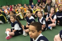 Bells Farm take part in athletics competition