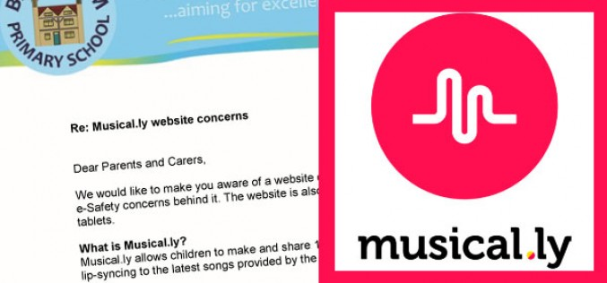 Parent Letter: Risks of website 'Musical.ly'