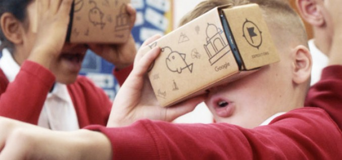 Google Expeditions comes to Bells Farm