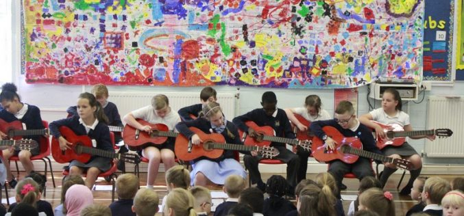 Video: Year 4 Guitar Assembly