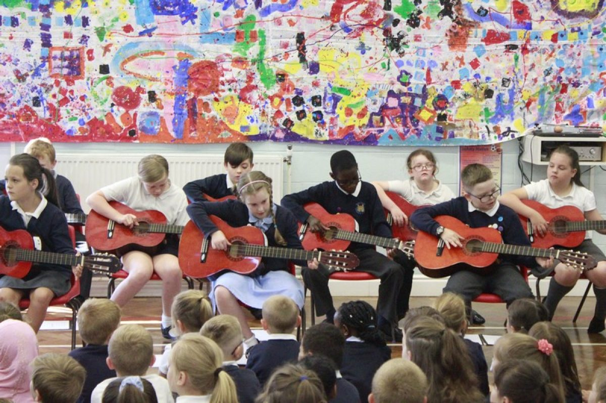 Year 4 Guitar Assembly 2017