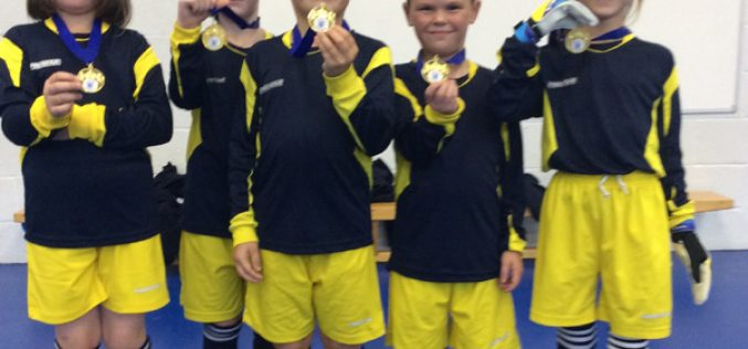 Year 3 win 5-a-side football tournament