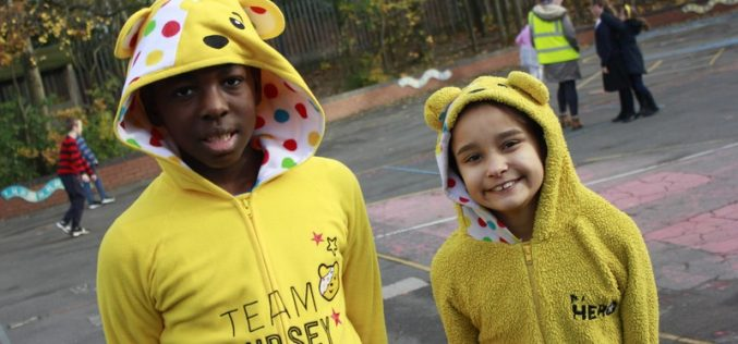 Children in Need 2017 fundraising photos