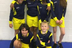 Dodgeball team finish top in tournament