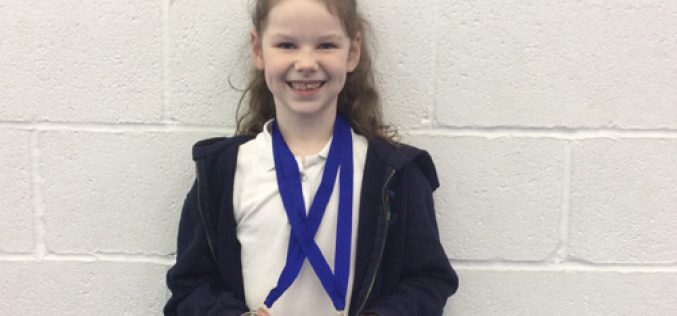 Gold for Megan in gymnastics tournament