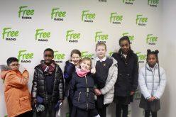 Radio Whiz presenters attend Free Radio