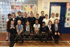 Silver medals in athletics competition