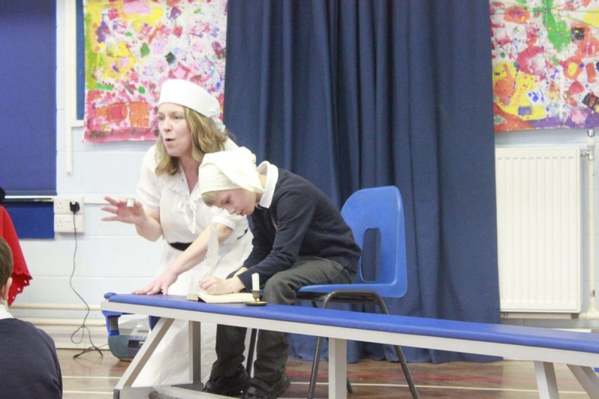 Year 2's Great Fire of London drama journey