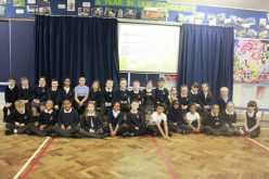 Photos of Year 4's Easter assembly