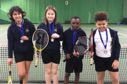 2nd place for our Y5 & Y6 in tennis tournament
