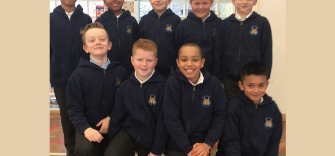Y4 and Y5 football team reach quarter finals