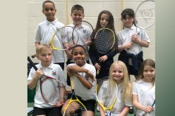 Year 4 tennis team finish 2nd in league