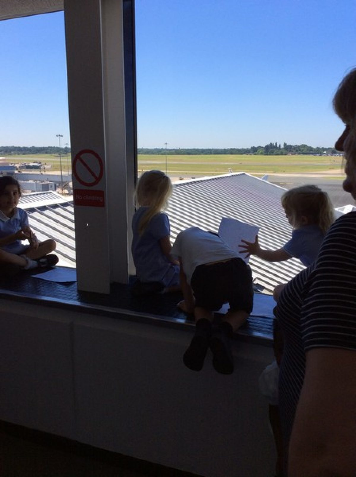 Reception Class trip to Birmingham Airport