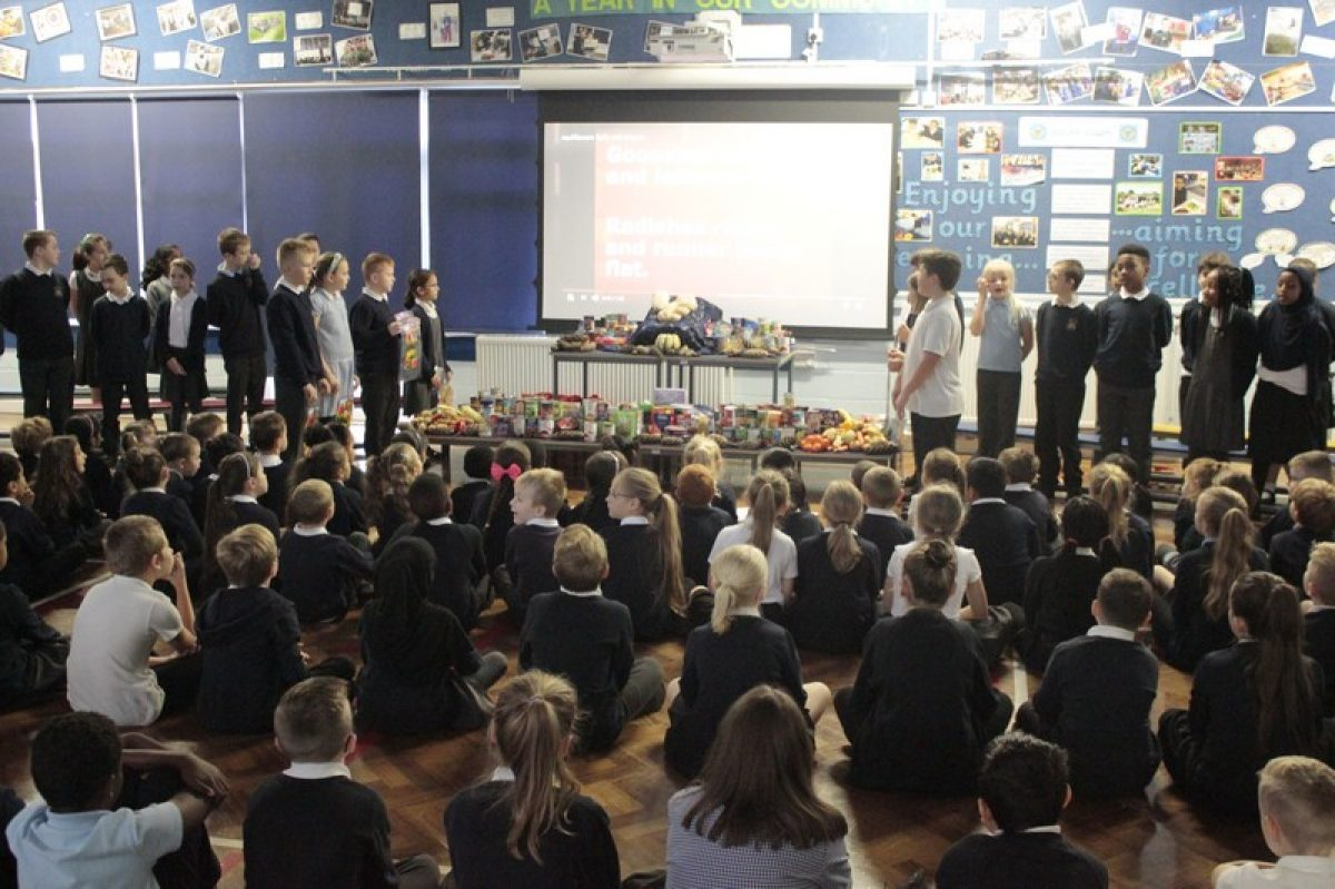 Year 5 Harvest Festival Assembly